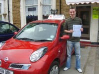 Conor Fenton started his driving lessons with us on his 17th birthday and passed both his theory and practical driving test in FOUR days. OK Driving Courses, UK Driving Instruction